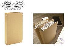 Midori Binder for Refills | Refill Midori 011 | Traveler's Notebook Regular Size