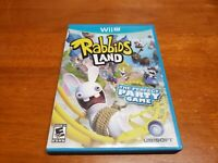 Rabbids Land (Nintendo Wii U, 2012) TESTED WiiU Fast Shipping