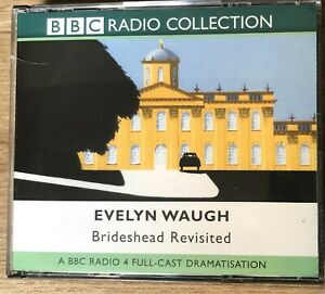 AUDIO BOOK Evelyn Waugh BRIDESHEAD REVISITED on 4 x CDs BBC Full-cast drama