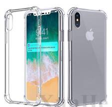 LOT X 10 iPhone XS Max Case Clear Transparent Rubber Bumper Cover Shockproof Pro