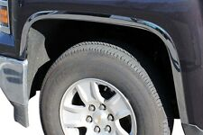 2014 - 2015 CHEVROLET SILVERADO 1500 POLISHED STAINLESS STEEL FENDER TRIM