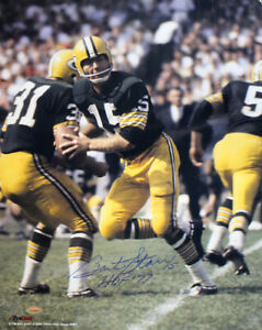 Bart Starr Autographed/Signed Green Bay Packers 16x20 Photo HOF Tristar 33483