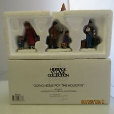 """Department 56 Heritage Village """"Going Home for the Holidays"""" #58896 1B"""