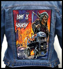 LOST SOCIETY - Fast Loud Death  --- Giant Backpatch Back Patch