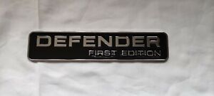 Rear Body Badge For Land Rover Defender First Edition 2020 2021 LR137458