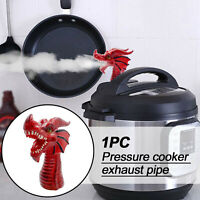 KQ_ Dragon Design Pressure Cooker Steam Release Diverter Vent Diverter Tool