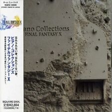 ORIGINAL SOUNDTRACK - FINAL FANTASY X: PIANO COLLECTIONS NEW CD