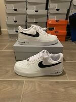 BRAND NEW/DEADSTOCK Nike Air Force 1 Low 07 AN20 White Black CJ0952-100 Size 9.5