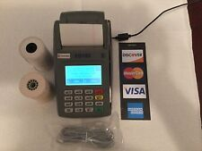 FD 100 credit card  terminal with power pack