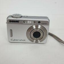 Sony Cyber-shot DSC-W50 6.0MP Digital Camera - Silver Tested