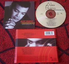Latin Merengue ALEX BUENO ** Unicamente Tu ** ORIGINAL 2001 Mexican CD