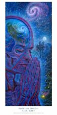 "OFFICIAL ALEX GREY ""Planetary Prayers"" POSTER print yoga spiritual meditation"