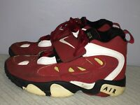 Youth 6 Y Nike Diamond Turf 2 RED GOLD Dion Sanders OG Speed Trainer 488294-600