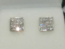 Butterfly Yellow Gold Excellent SI1 Fine Diamond Earrings
