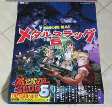 Cool Metal Slug 6 Poster SNK Playmore Neo-Geo AES PS2 X * Brand NEW