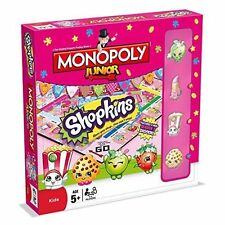 Shopkins Monopoly Junior Traditional Modern Board Game