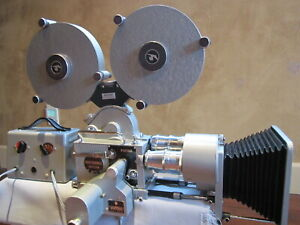 PATHE FRANCE 16MM MOVIE CAMERA, MOTOR, 400FT MAGS, MATTE BOX  *NO LENSES*