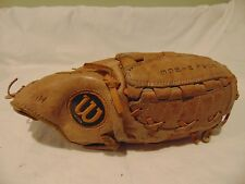 """Youth Wilson A2160 Baseball Right-Hand Thrower Glove Brown Leather 10"""""""