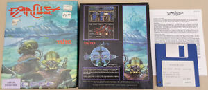 Darius+ - 1987 Taito 1989 The Edge Game for Commodore Amiga BOXED!