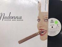 "Madonna Deeper And Deeper Vinyl Record House Remix 12"" - 1992"