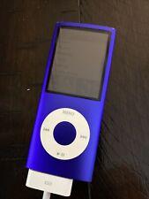 Apple iPod Nano - A1285 - 8Gb - 4th Generation - Purple - Great Condition!