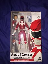 HASBRO POWER RANGERS LIGHTNING COLLECTION MIGHTY MORPHIN RED RANGER JASON NEW