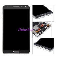 Assembly LCD Screen Touch Digitizer +Frame For Samsung Galaxy Note3 N900A Black