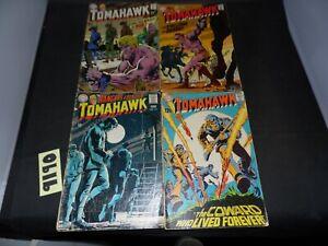 DC Comics Tomahawk lot of 4 books #117 #120 #123 and #126