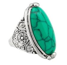 Turquoise Natural Stone Fashion Rings