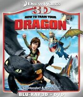 How to Train Your Dragon [New Blu-ray 3D] With DVD, Widescreen, Subtit