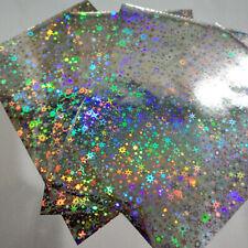 50pcs Hot Stamping Foil Paper Heat Transfer for Laser Printer DIY Card Crafts