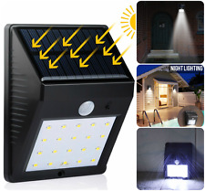 20 LED Solar Power Spot Light Motion Sensor Outdoor Garden Security Lamp Gutter