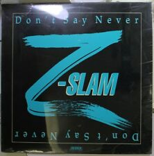 "Pop/Rock Sealed 12"" Lp Z-Slam Don'T Say Never On Fastfire"