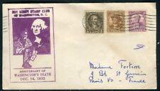 Etats Unis - Enveloppe souvenir Anniversaire de George Washington en 1932