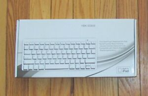 Hitek Wired Keyboard for iPad 8 Pin Lightning Connector YBK-S0808 NIB
