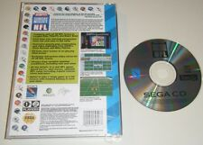 ESPN Sunday Night NFL GAME AND CASE BACK for your SEGA CD system - CDX