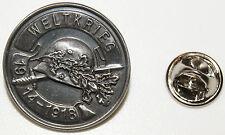Weltkrieg 1914 - 1918 Stahlhelm Schwert l Anstecker l Abzeichen l Pin 257