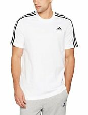 Adidas Essentials T-shirt Homme Blanc FR L (taille Fabricant L)