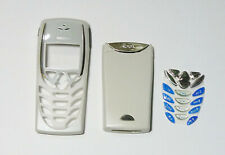 white Housing Cover Case Fascia Faceplate for Nokia 8310 blue keypad