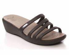 Calzado de mujer sandalias con tiras negro Crocs