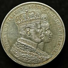 1861 Germany Prussia Coronation Thaler