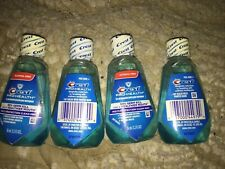 Crest Pro-Health Mouthwash, Alcohol Free Multi-Protection Clean Mint 1.2 oz 4 Pk