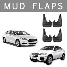 4X Rubber Front Rear MUDFLAPS Mud Flaps Guards for BMW 3/5/7 Series VW Ford UK