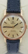 Omega Geneve Swiss Ladies Gold 20 Micron Plated Watch Cal 625 Ref 511.021