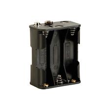Boitier Coupleur pour 6 PIles 1,5 Volt R6 / LR6 Contacts à Pression