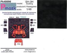 Model Maker 1/48 SIKORSKY SH-3H SEA KING Paint Mask Set Hasegawa Kit