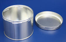 400ml DOSE BLECHDOSE TINPLATE TIN METAL METALL BLECH BOX CAN WEISSBLECH BEHÄLTER