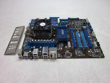 Asus M4N75TD TurboV AMD Motherboard Athlon II x2 255 3.1GHz Boots NO RAM
