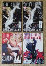 CLOAK & DAGGER SPIDER ISLAND #1-3 + #1 2nd Print * Marvel Comics