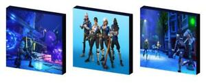 FORTNITE CANVAS WALL ART PLAQUES/PICTURES set of 3 SET C